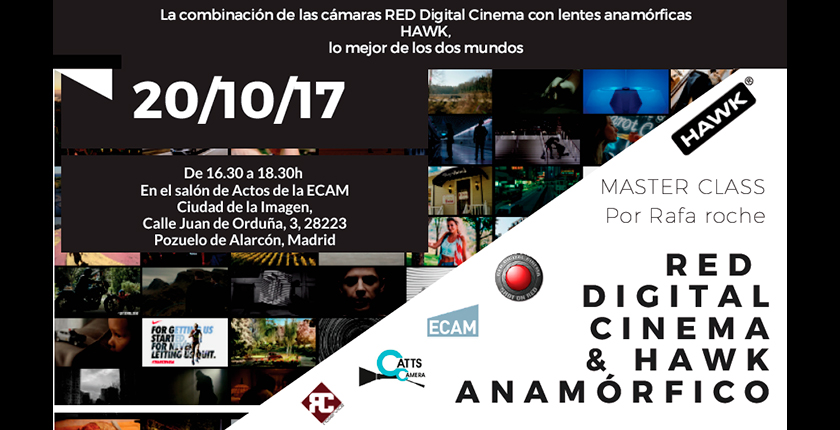 Masterclass Red Digital Cinema & Anamórficos